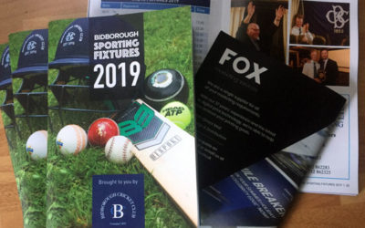 Sporting Fixtures Publication unites a Village Community